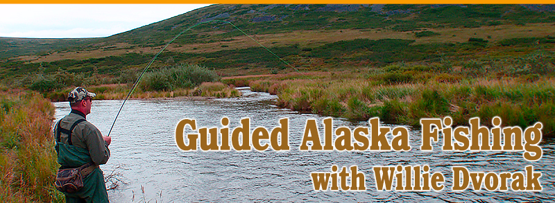 Guided Alaska Fishing with Willie Dvorak